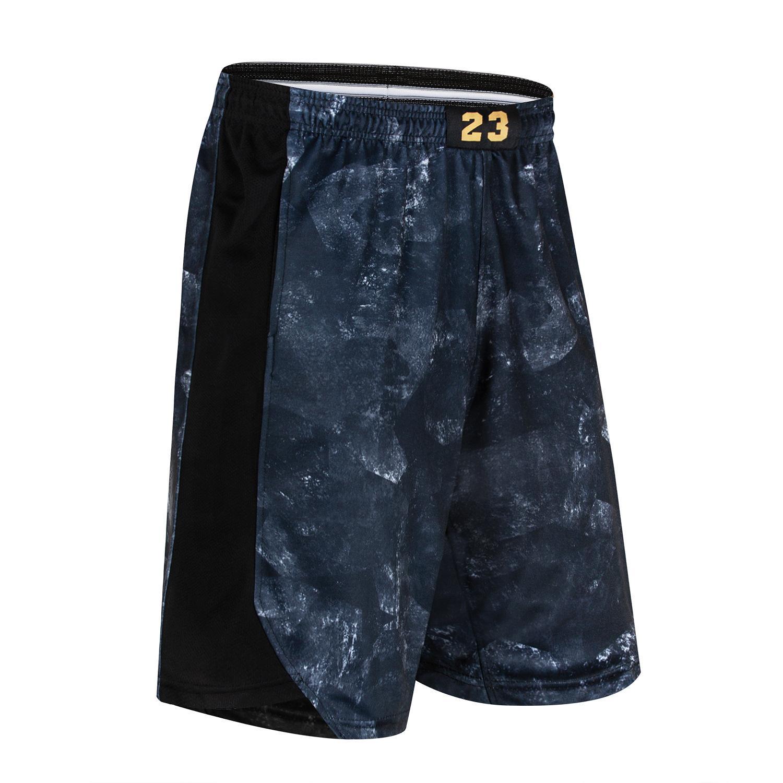 Burst nouveau produit Shorts de sport Pantalons Fitness Hommes Zhan Huang 23 Basketball Shorts en vrac et tailles Plus Short over-the-genou