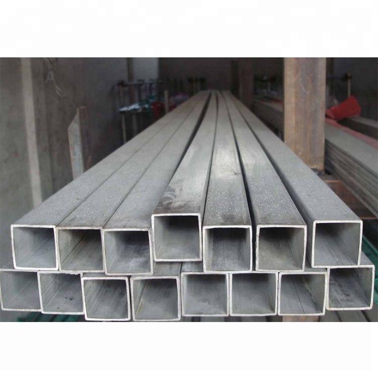 High quality GR2 GR9 titanium rectangular titanium square tube for industry Gr1 Gr2 Pure Titanium flat tube price for sale