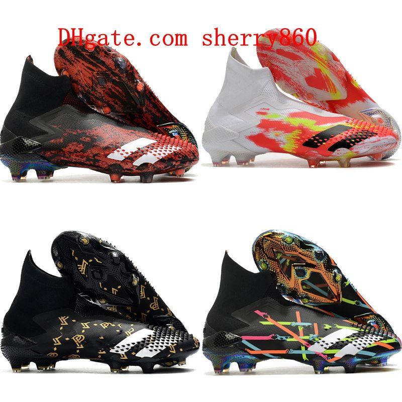 2020 en kaliteli erkek erkek futbol ayakkabıları Predator Mutator 20+ FG kadın çocuk futbol ayakkabıları botas de futbol Archetic boyutu 35-45