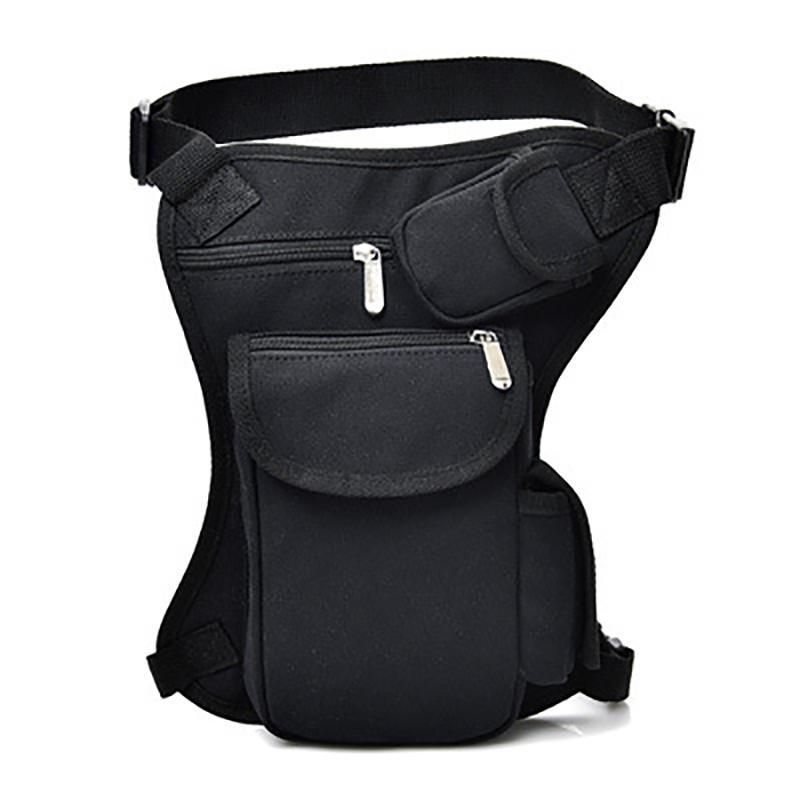 Radfahren Leinwand Gürteltasche Outdoor Tactical Multifunktions-Sport-Gym Designer Fannypack Beinbeutel Freizeit Sport Angeln Gear Bag