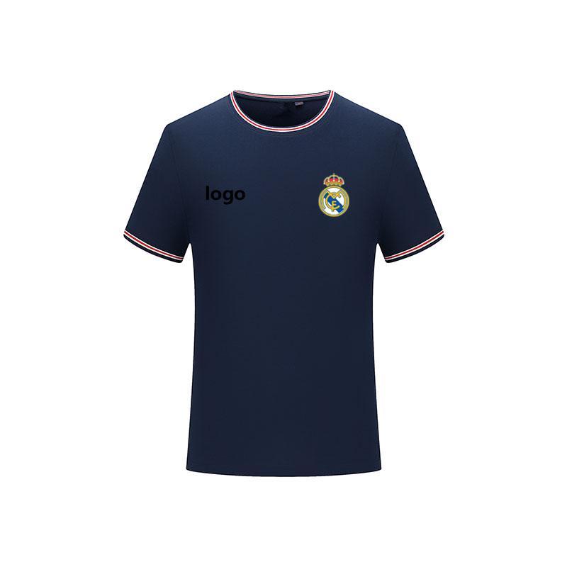Sevilla FC 2020Men atletler moda forma kısa kollu tişört erkek spor futbol polo gömlek düz renk pamuklu erkek tişört