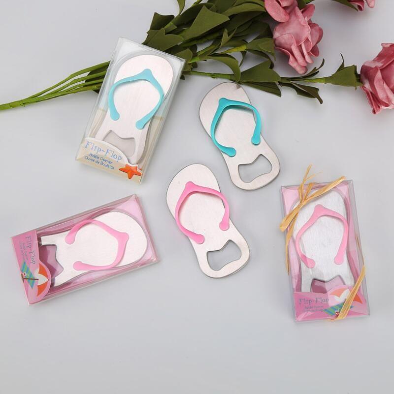 Flip Flop Thong Beach Theme Bottle Opener Bridal Shower Wedding Favors  Tool