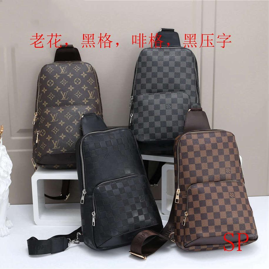 Mens design cintura Bag Crossbody Saco de Luxo Bloco de Fanny exterior Marca Bolsas de Ombro Moda Briefcase B102681K