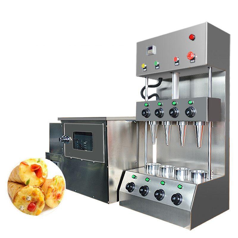 SICAK SATIŞ Pizza Cone Maker Ekipmanları / Pizza Koni Makinesi / Pizza Koni Kalıp Üretim Makinası Hattı Yapımı