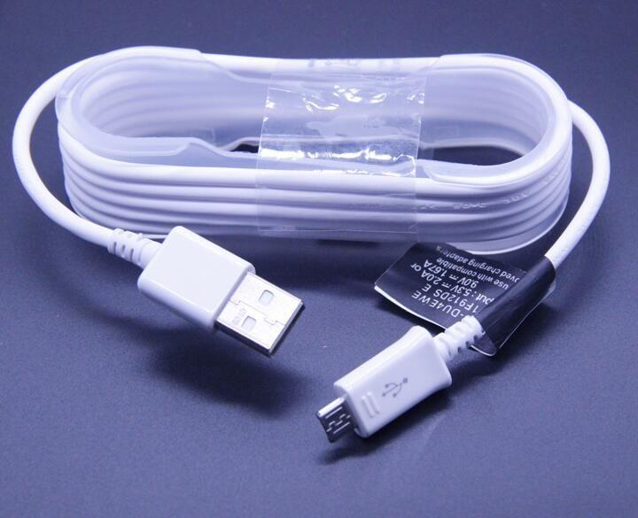 La vente chaude du chargeur NOTE S6 NOTE 4 line convient à la ligne de données de charge rapide Samsung S8 / S7 / S6 deux en un.