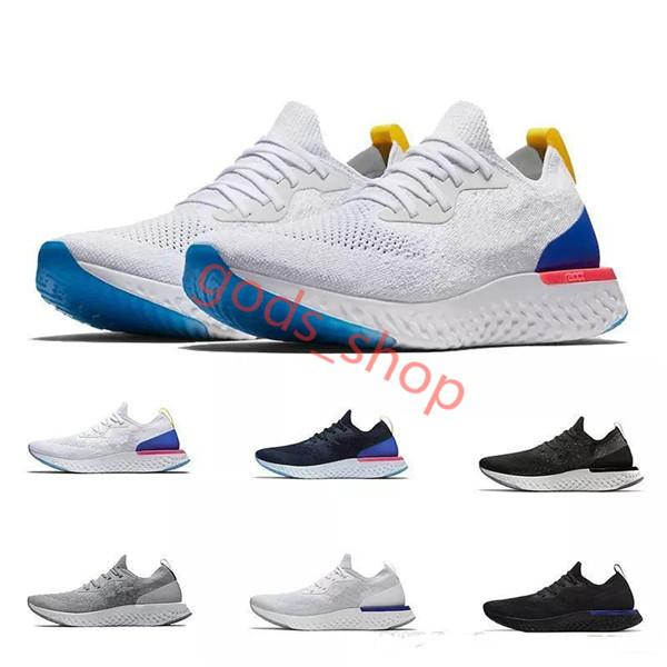 Nike Reac réagissent pas cher New Chaussures occasionnels RN Flyline 5,0 Hommes Femmes Chaussures de sport de haute qualité Marche FreeRun Sport Chaussures Taille 5,5-11 Hococal