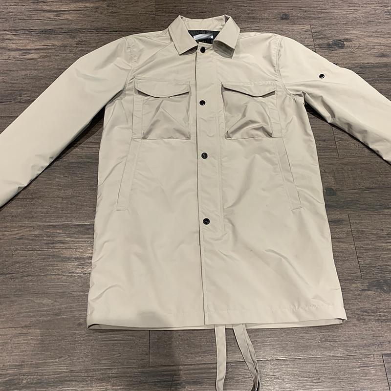 CP topstoney PIRATE COMPANY gonng de marque de haute ressort de chemise de qualité de mode et à l'automne nouveau sac de rangement pliable mince couche coupe-vent
