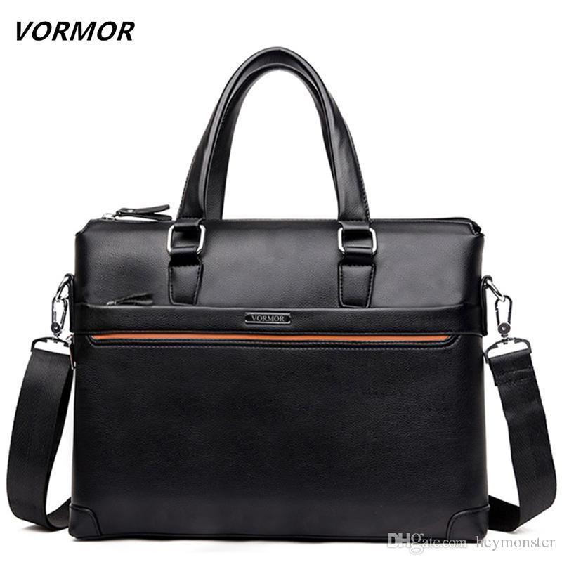 2019 бесплатная доставка новая мода PU сумки для мужчин известный бренд мужская сумка кожаная сумка портфель