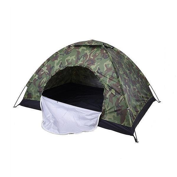 Tenda di campeggio esterna della tenda Camouflage all'aperto Escursionismo viaggio Camping Sonnecchiando