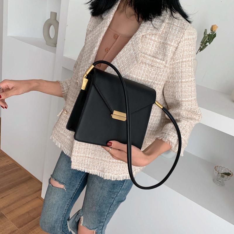 Ladies Messenger Bags Fashion Women 2020 Ffor Patchwork Women Shoulder Bag Mini Small Square Bag Designer Chain New Handbags Sac Mhwjx