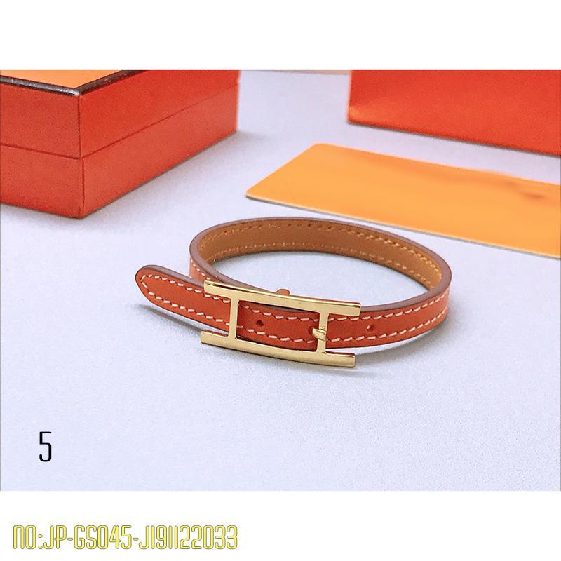 Новый ювелирный браслет для женщин / мужчин нержавеющая сталь натуральная кожа браслеты мода письмо браслеты серебряный браслет дизайнерский бренд ювелирных изделий