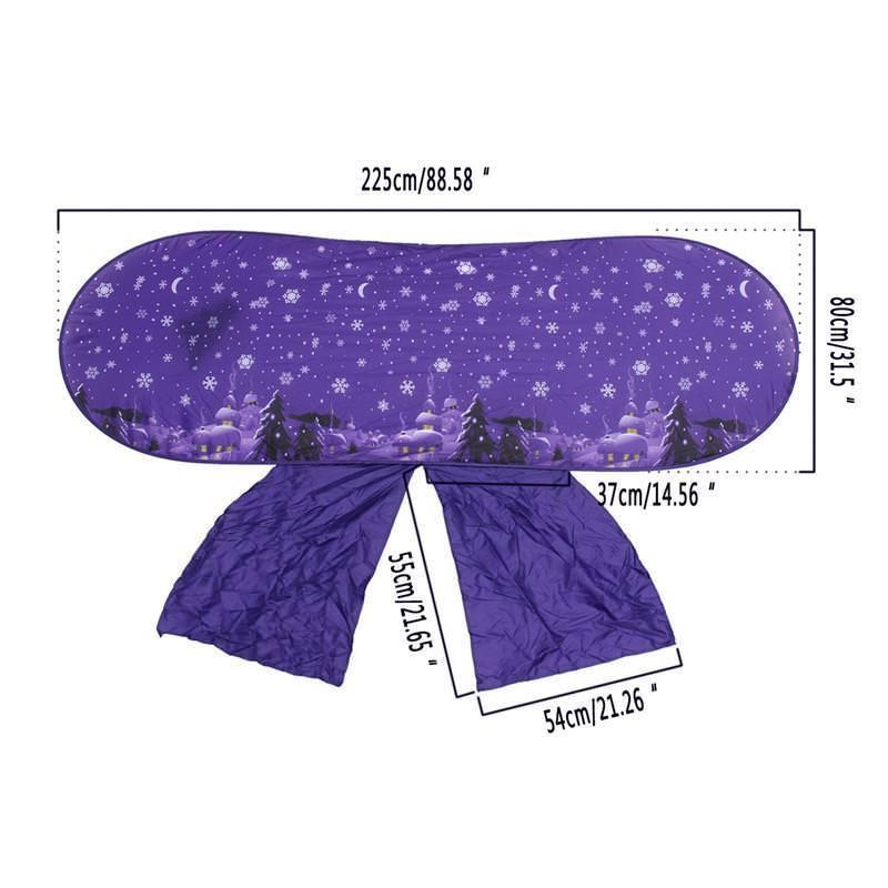 Foldable Kids Tents Baby Up Bed Tent Cartoon Fantasy Snowy Playhouse Comforting At Night Sleeping Mosquito Net Outdoor Camp