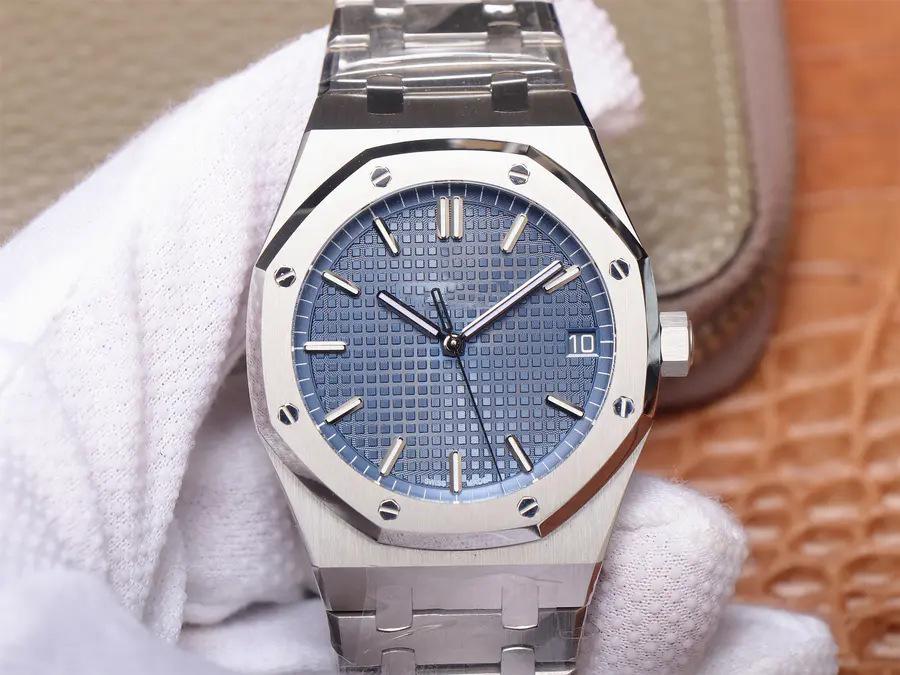 Качество новые 4302 автоматические часы цепной механизм толщина корпуса часов 41 мм x 10.04 мм дизайнерские автоматические механические часы