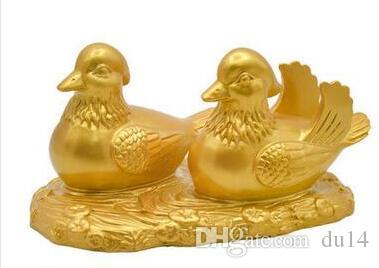 One Hundred Years Harmony Mandarin Ducks Marriage Geomantic Love Wedding House Decoration Gifts to Help Marriage