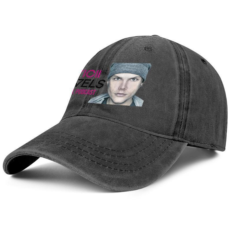 Avicii präsentiert Strictly Miami 2011 Männer und der Frauen Baseball Denim Cap Design Designer individuelle classicsports ausgestattet stylishcustom Hüte