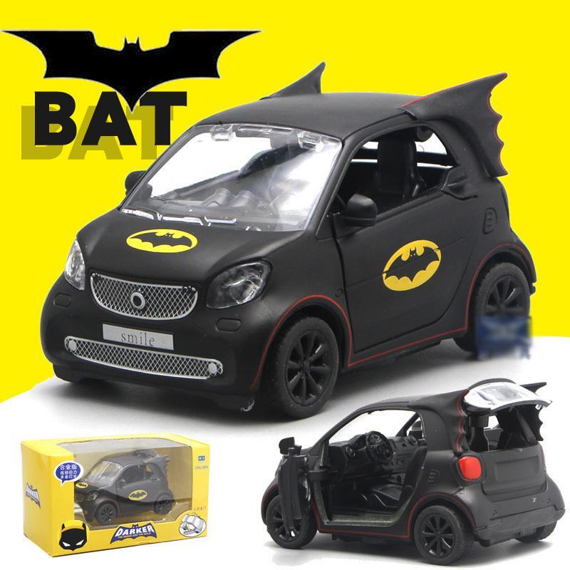 Yeni Batmobile Batmobile Yarasalar Karikatür Alaşım Araba Modeli Acousto-optik Geri Gücü Oyuncaklar Çocuklar Için Hobiler Eylem Oyuncak J190525 Rakamlar
