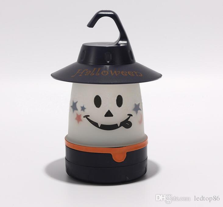 Sourire mignon gros Lampe de table Lanterne multiusages pour les enfants / adultes Portable Lantern Fun Light Sport Camping Sourire LED