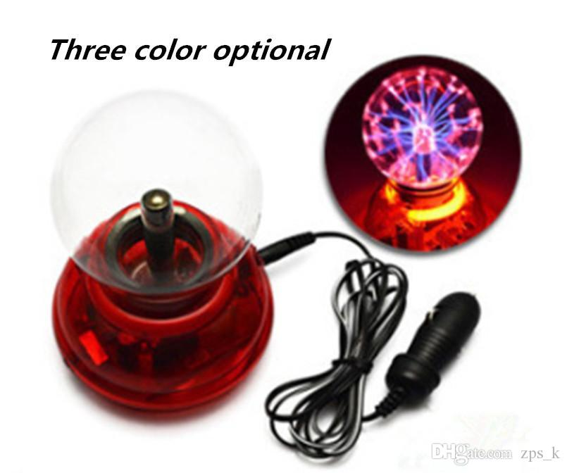 Hot Sale Automobile Sound-controlled Touch Ion Ball Automobile LED Decorative Lamp Car Magic Induction Ball Hot Sale