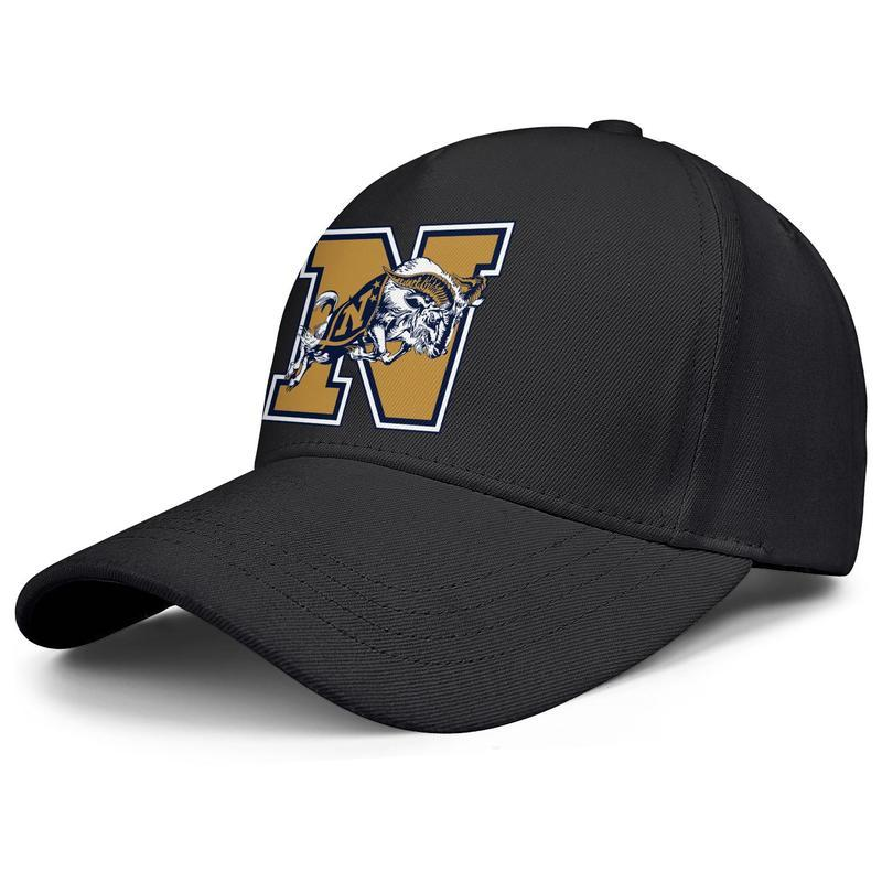 Maryland Navy Midshipmen calcio logo maschile e femminile nero fresco berretto da baseball progettista sportiva su ordinazione di moda carino migliori cappelli classici