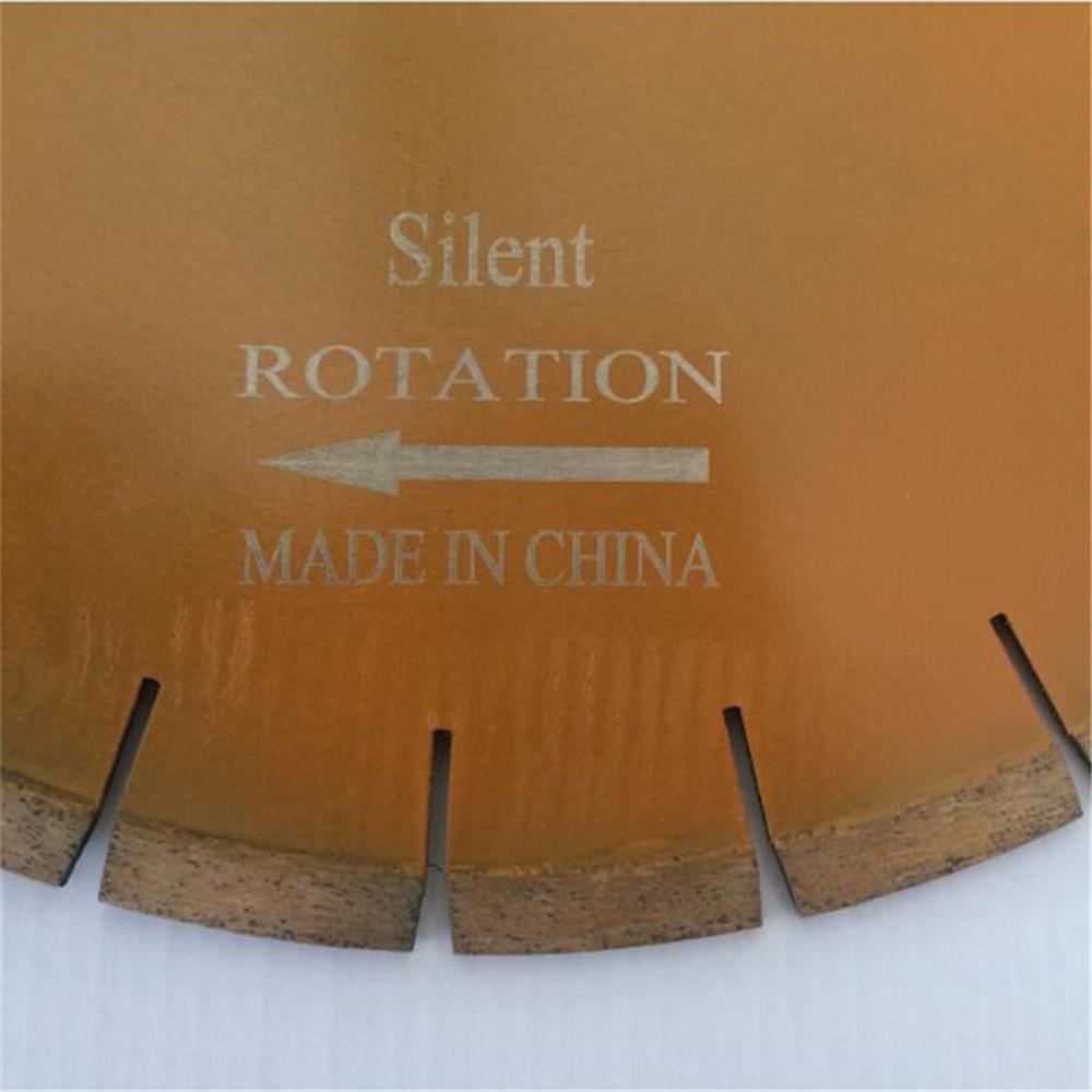 Silent Diamond Stone Cutting Blades 14 Inch D350mm Hand Saw Blades Granite Cutting Disc for Bridge Cutting Machine 1PC