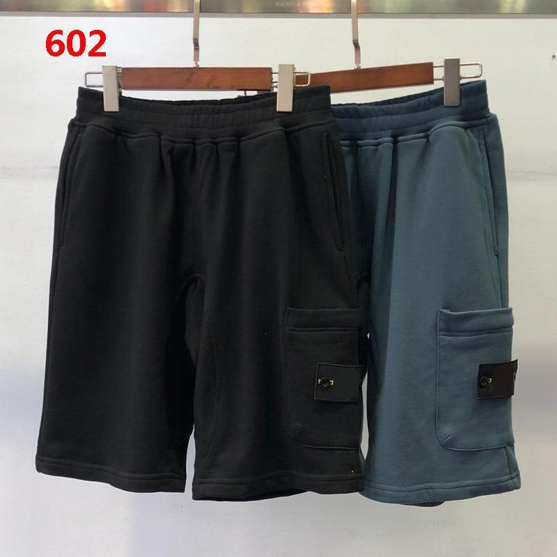 Dropship Casual Herren Shorts Joggers Hosen für Männer Männliche Hose Männer Joggers Solide Schwarz Blaue Hosen Baumwolle Shorts M-2XL