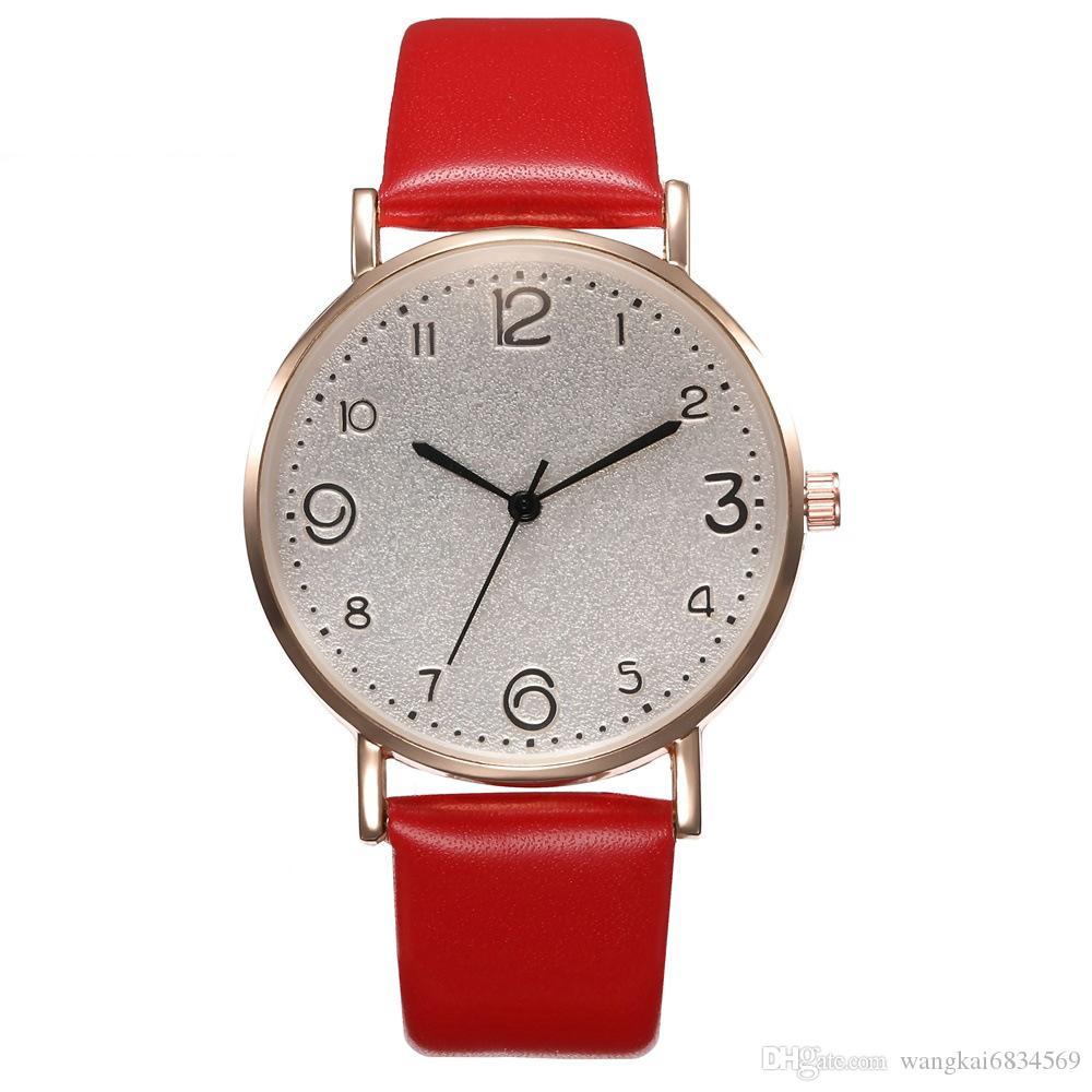 Totatoop Luxusmode-Analog-Armbanduhr für Frauen Einfache Damen-Quarz-Uhr Temperament schwarz Uhr Weibliche Modelle Armband kh023