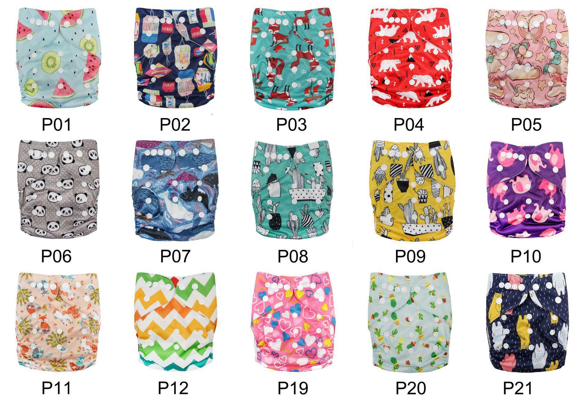 [LittlesBloomz] Baby lavável reutilizável real pano PADRÃO Gancho-Loop bolso Fralda Diaper incluir a Wrap, ternos nascimento para Potty