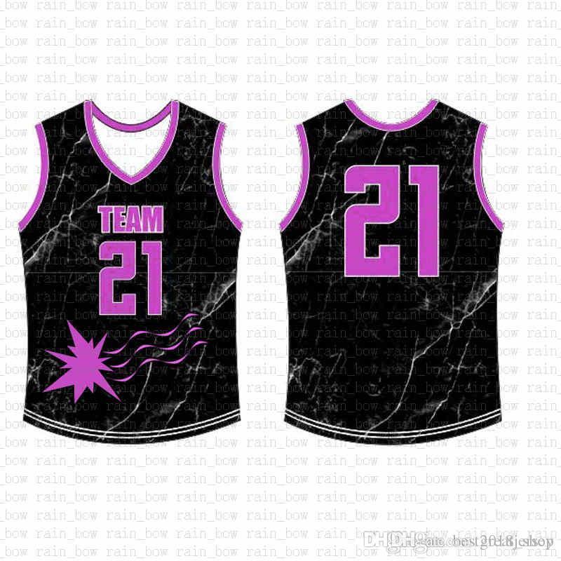 2019 New Custom Basketball Jersey Qualität Mens freies Verschiffen der Stickerei-Logo 100% Genähte Top Verkauf A12222