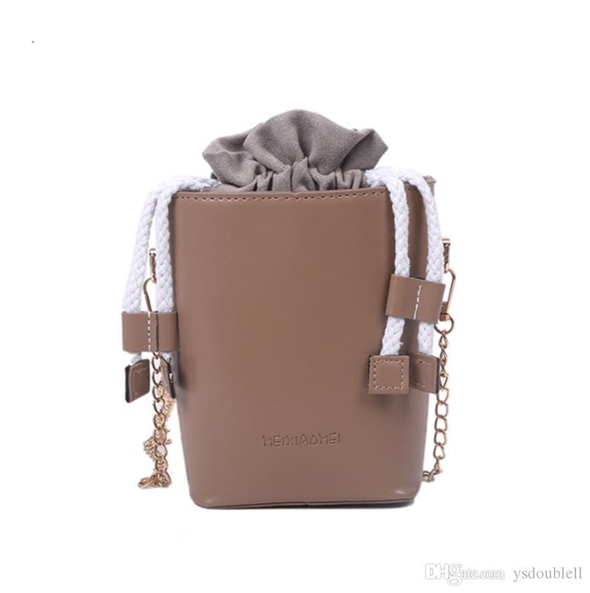 Piccola scatola 2020 Fashion da donna Ins Nuovo Borsa Borsa Borsa Secchio Messenger Piccolo VSIWC