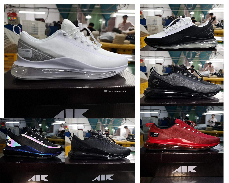 2020 뜨거운 판매 720 실행 유틸리티 남자는 좋은 품질 쿠션 반사율 (72C) 디자이너 야외 스포츠 운동화 사이즈 신발을 실행 7-11