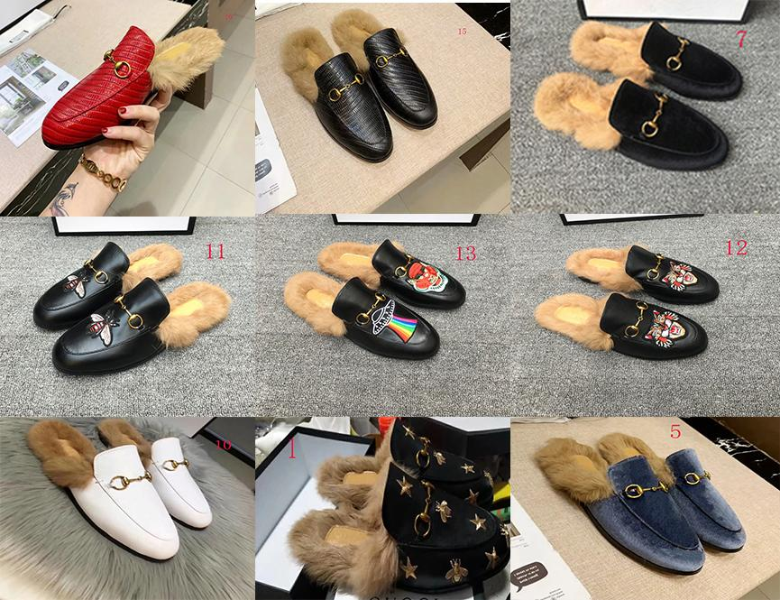 2020new1 wool slippers fashion causal slippers Wool slippers lock tian/blooms start print slide sandals unisex outdoor beach flip flops