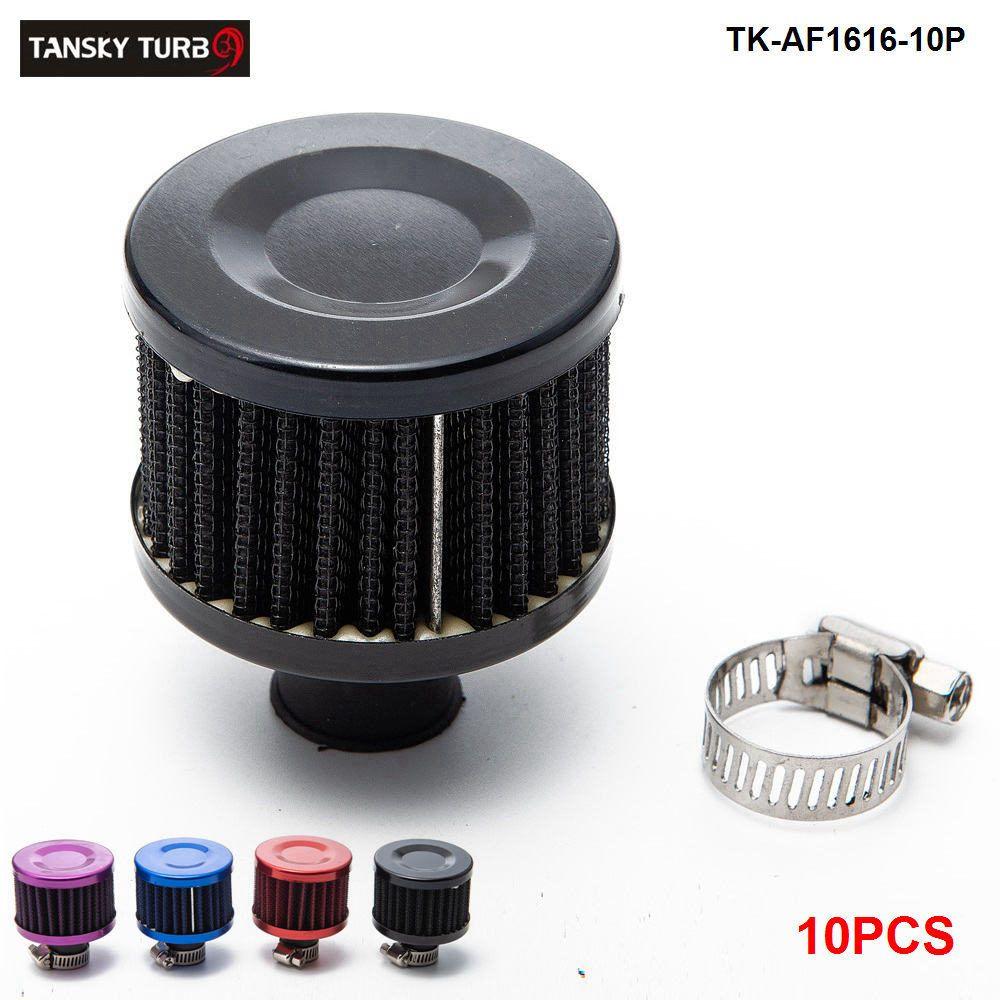 Tansky-10 PCS Universal super power filtro de ar de fluxo 51 * 51 * 40 (PESCOÇO: about11mm) modificado filtro de admissão de ar para carros TK-AF1616-10P