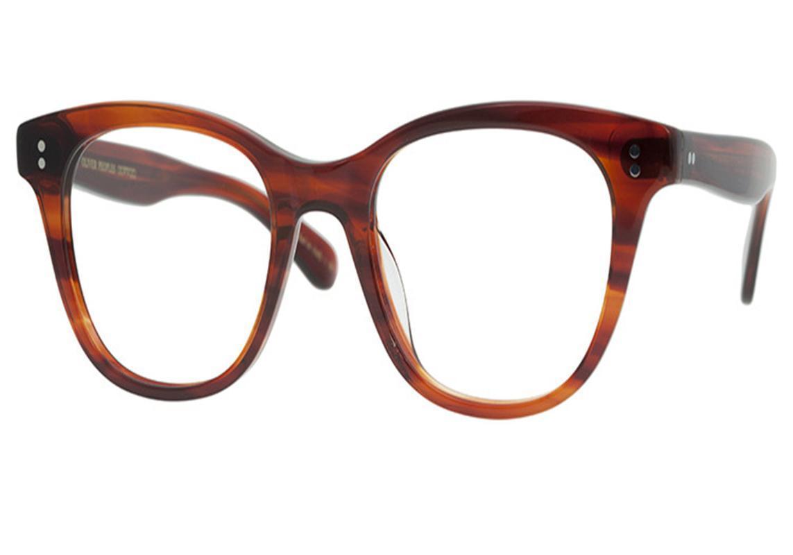 La prescripción del marco de la lente óptica Gafas unisex de la vendimia Lamer Acetato completa antifatiga Marca gafas gafas de lectura Gafas OV5408