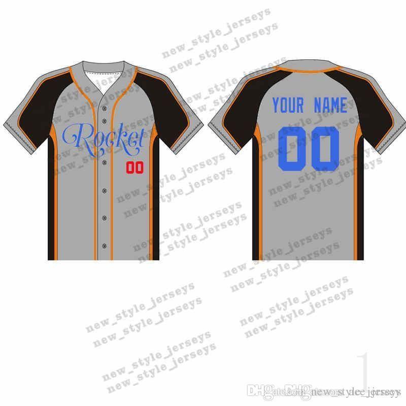 2020 nueva 106MAN personalizada béisbol jerseys transpirable 2.019 hombres jóvenes Rápida azul blanco seco cosido M-XXXL verde camisetas de béisbol