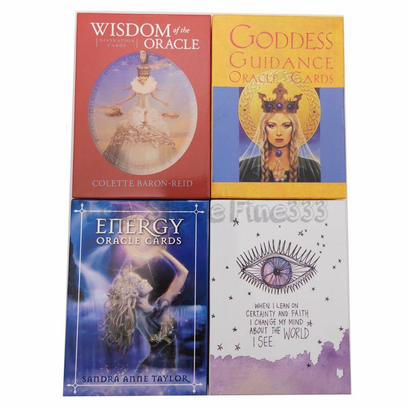 أوراكل بطاقات التارو بطاقات لعبة بطاقات حزب لعبة التارو لعبة الحكمة الطاقة إلهة الكون ملاك الأرض