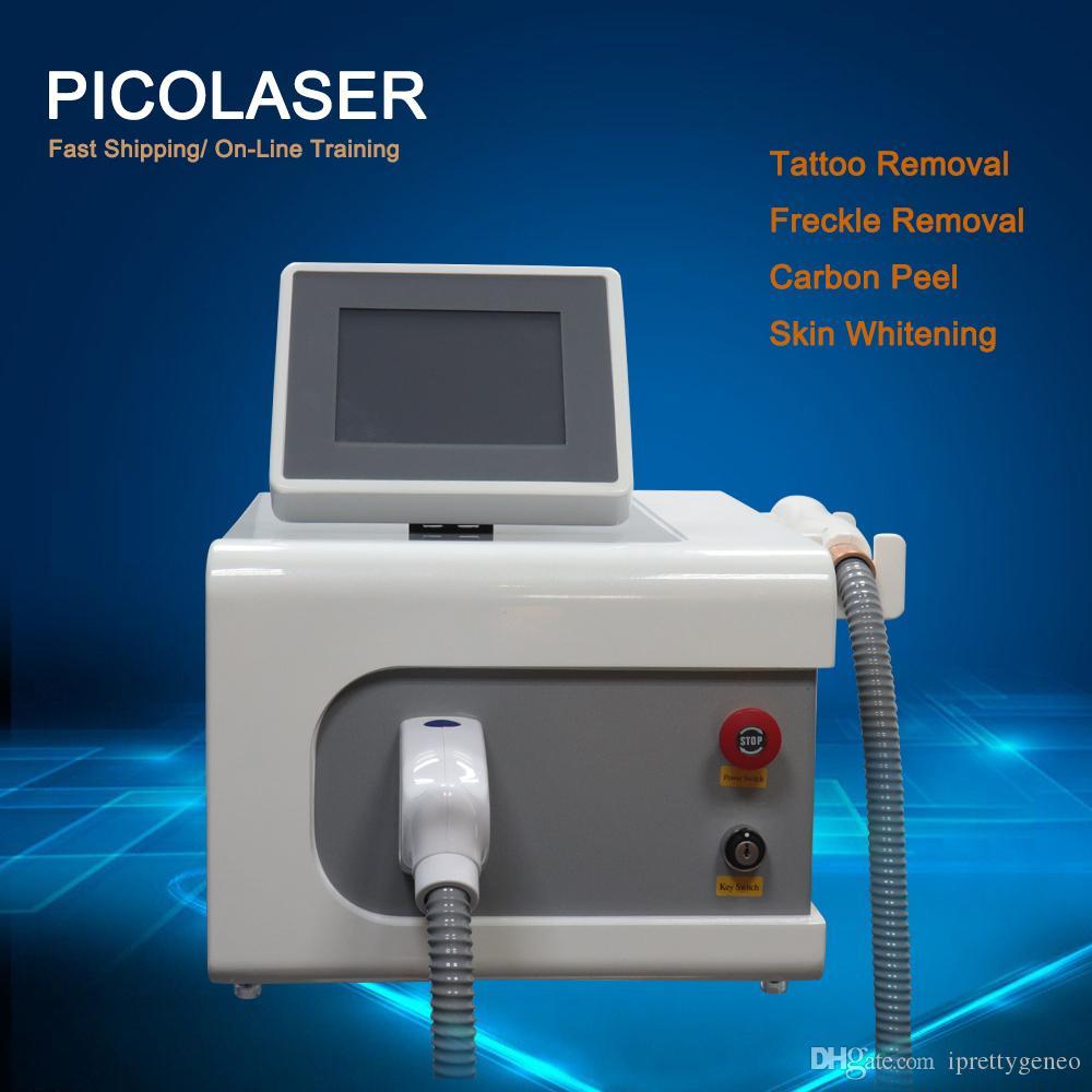 2020 PicoSecond Laser Tatouage Machine Pico Laser Spot Spot Mole Supprimer Pico Therapy Élément de beauté Salon de beauté