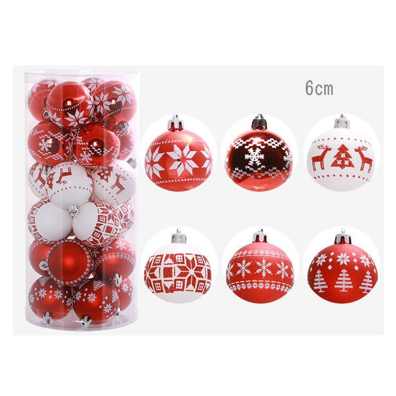purchase cheap 7a92b 9db1c Christmas Balls Christmas Tree Decoration Balls Drawing Party Ornament  Decorations For Home Decorations Christmas Stockings Christmas Stuff From  ...