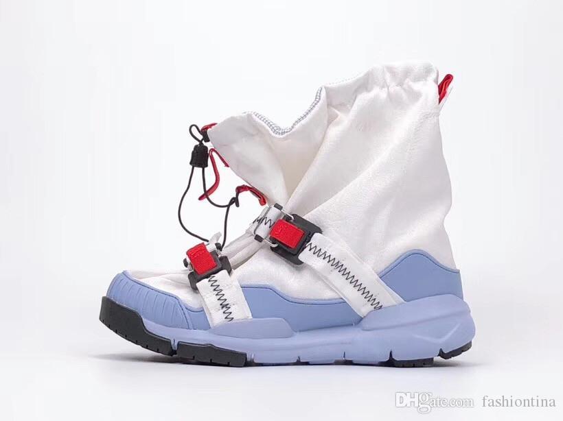 Libération 2019 Tom Sachs x Mars Yard sur chaussures de basket-ball chaussures de sport authentiques baskets avec boîte d'origine AH7767-101