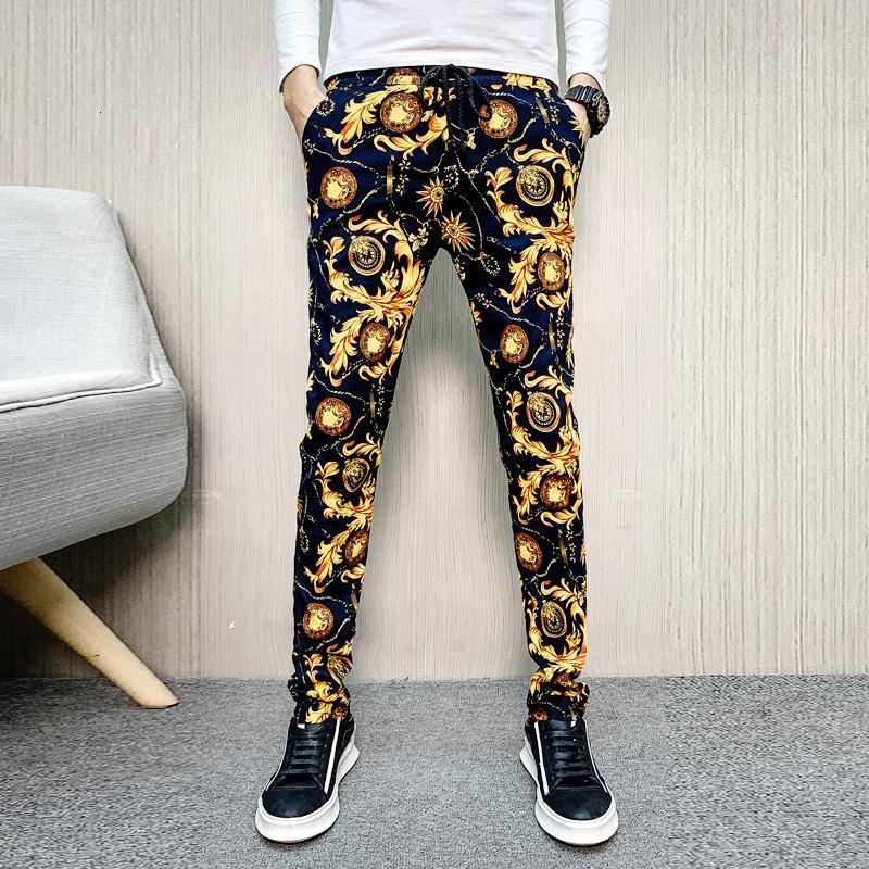 Erkek Pantolon Streetwear Rahat Açık Jogger Kişilik Adam Pantolon Kargo Pantolon 2021 Erkek Erkekler Spor Nefes