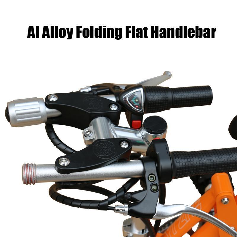 36V250W 14 polegadas dobrar e bicicleta sem escovas com bateria de lítio do motor e moto