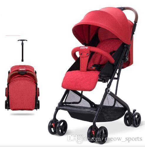 Baby strollers Portable and Simple Super Child Car A reclining baby cart Children's shock absorbers can board planes
