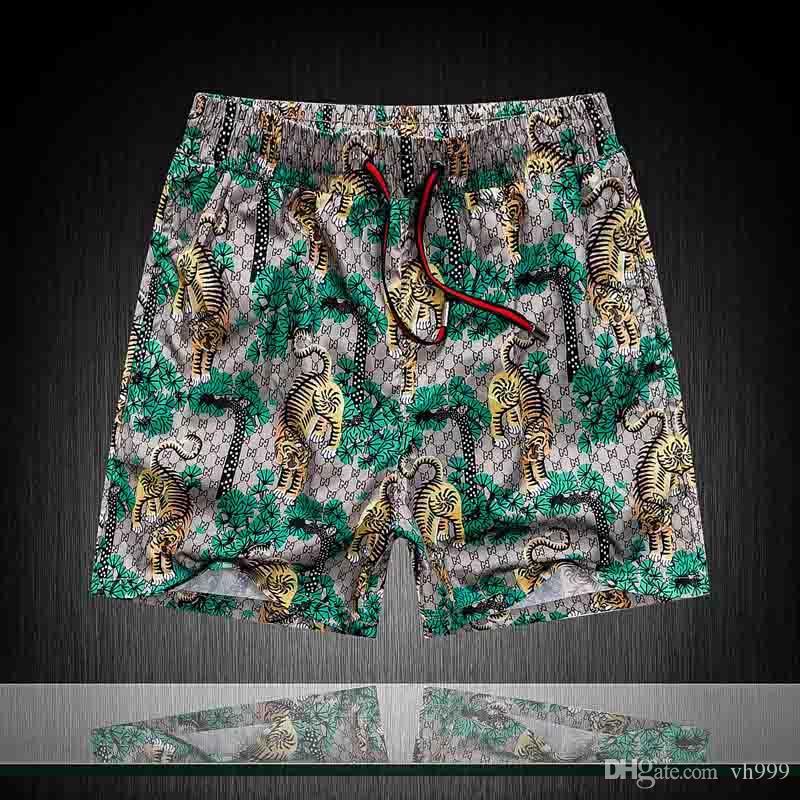20SS nouvelles DESIGNERS de luxe casual shorts pour hommes serpent motif fleur shorts de bain des hommes de broderie haute couture rue pantalons de plage Medusa