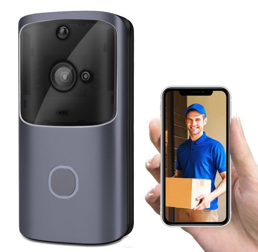 Neue M10 WIFI-Türsprechanlage Intercom-Video-Türklingel-Batterie-Video-Tür-Tür-Glocke drahtlose Türsprechanlage Türphone-Kamera-Unterstützung TF-Karte