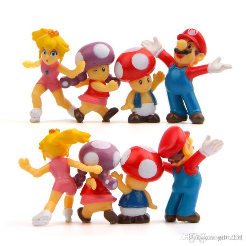 2020 Big Sale Super Mario Bros 2 Action Figures Mario Luigi