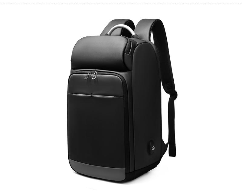 "EURCOOL Uomini 15.6"" Viaggi Laptop Backpack Water Repellent multifunzione Maschio Mochila Affari Zaini UBS ricarica design N0006"