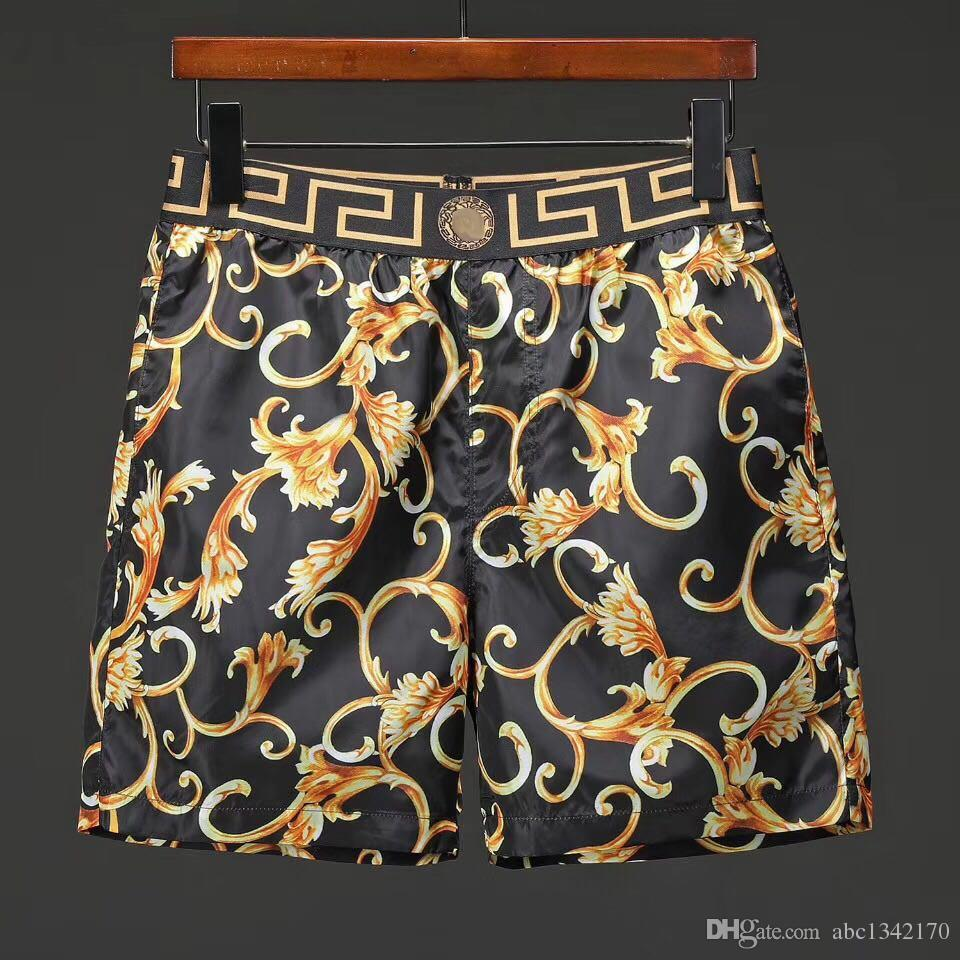 Pantaloncini da uomo estate estate all'ingrosso tessuto di marca 19ss costumi da bagno costumi da bagno in nylon spiaggia pantaloni da spiaggia pantaloncini sport shorts M-3XL