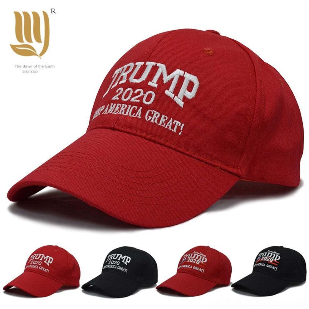 Lwgmu American Presidente Trump Cap para Homens Bordados No.45 Boné Boné Homens Mulheres 5 Cores Sun Designer Chapéus para Menshipping