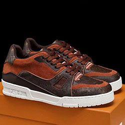 Louis Vuitton Shoe Moda Trainer Snekaer Erkek 'S Ayakkabı Lüks Spor Rahat Tipi Footwears Zapatos De Lujo Para Hombre Stil a0528