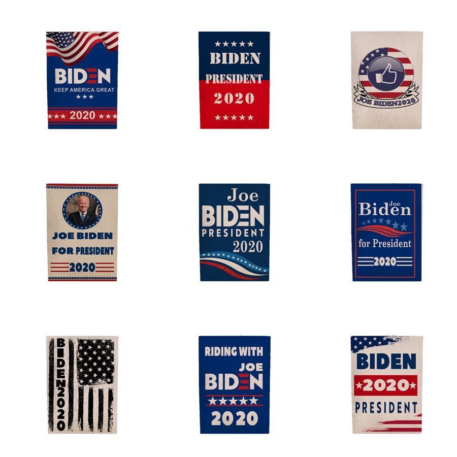 3 * 5 pés Biden 2020 Bandeira Donald Bandeira Biden Mantenha América Grande Donald para o presidente Campanha Bandeira 45 * 30cm Jardim Bandeiras # 658