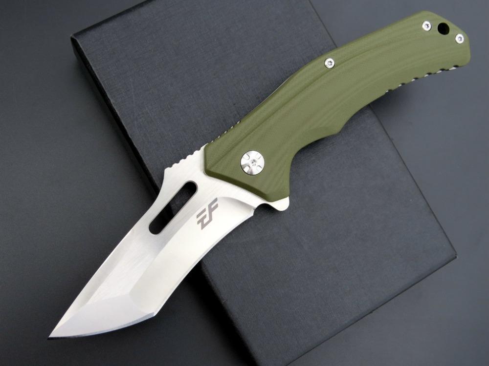 eafengrow EF908 D2 lame G10 poignée de chasse tactique couteau pliant outils à usages multiples de poche de survie de couteau cadeau